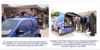 Delivery of the First Greek 2 Seated Fuel Cell CityCar to C.R.E.S. Institute