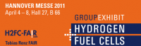 17th Group Exhibit Hydrogen + Fuel Cells at HANNOVER MESSE 2011