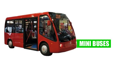 Electric and fuel cell Mini Buses