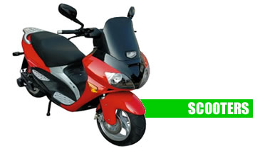 Electric and fuel cell Scooters