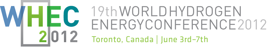 Meet us @ World Hydrogen Energy Conference 2012, 3-7 June, Toronto, Canada