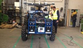 Tropical's Robot Tractor for Agriculture, New Holland Factory - Belgium